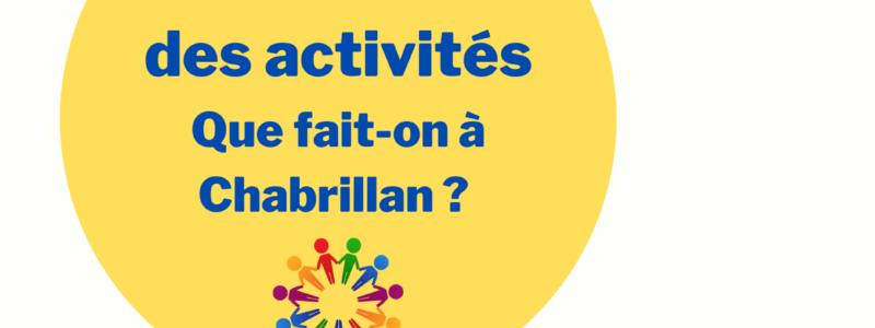 Forum des activités à Chabrillan
